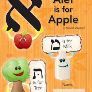 Alef is for Apple-Workbook Ashkenaz