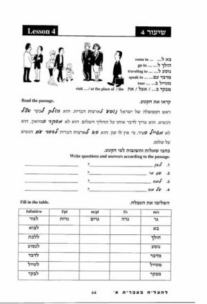 LeHatzliach BeIvrit Alef+English translation