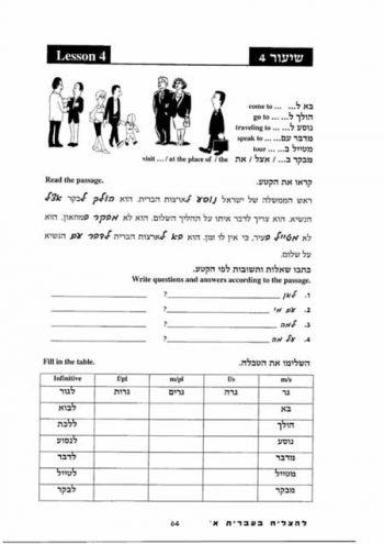 Le'Hatzliach Be'Ivrit Alef+English translation