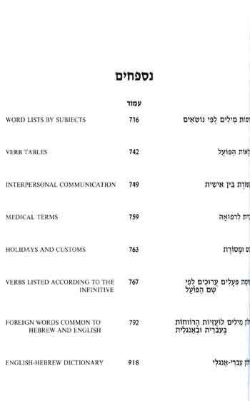 Rav Milon - Multi Dictionary